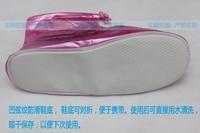 3 двойной цвет Perl пас женские туфли на блок туфли на высоком парень среднего сократить покрыть boone обуви дождь обувь покрыть утолщение простым