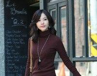 d01 имеют осень и зима женщин все-матч мода свитер куча свитер основные рубашка