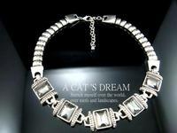 n1111 минимальный. заказ $ 10 мода старинные игристое кристалл вечернее платье цепочка с коротким дизайн ожерелье себе ювелирных изделий