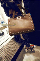 новое поступление рождество свободного покроя заклепки украшения мода винтаж сумочка крест - тело женская сумочка bag189