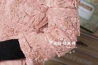 осень и зима мех Рекс волос колики пальто верхняя одежда женщины в средний лепесток - D