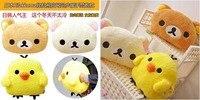 медведь маленького цыпленка плюсы игрушки мультфильм животных подушка сон подушка рука по