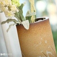 керамические современные краткие большой цветок ваза свадебные подарки