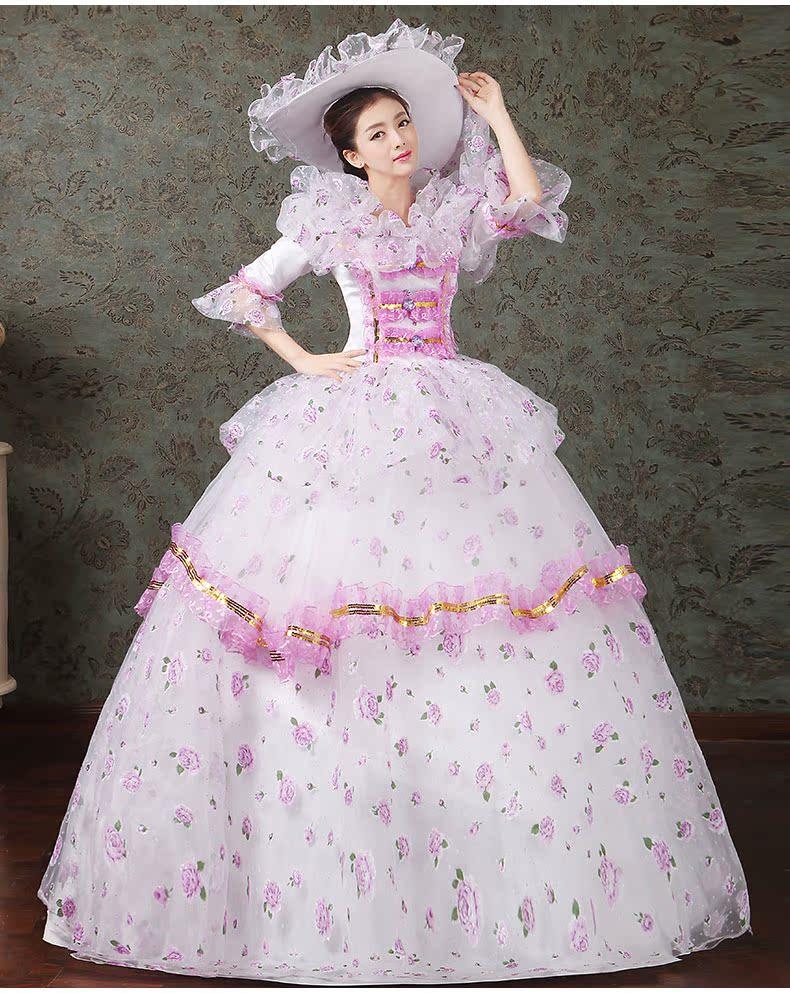 women dress Elegant fashion female royal clothing costume royal female clothes series 11