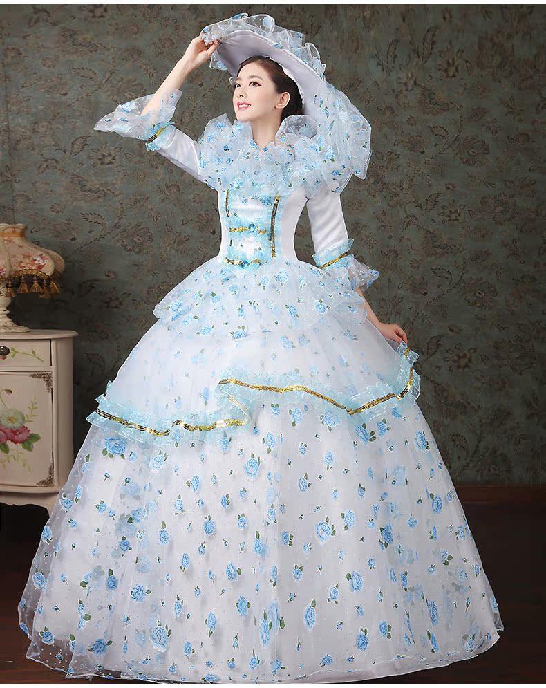 women dress Elegant fashion female royal clothing costume royal female clothes series 7