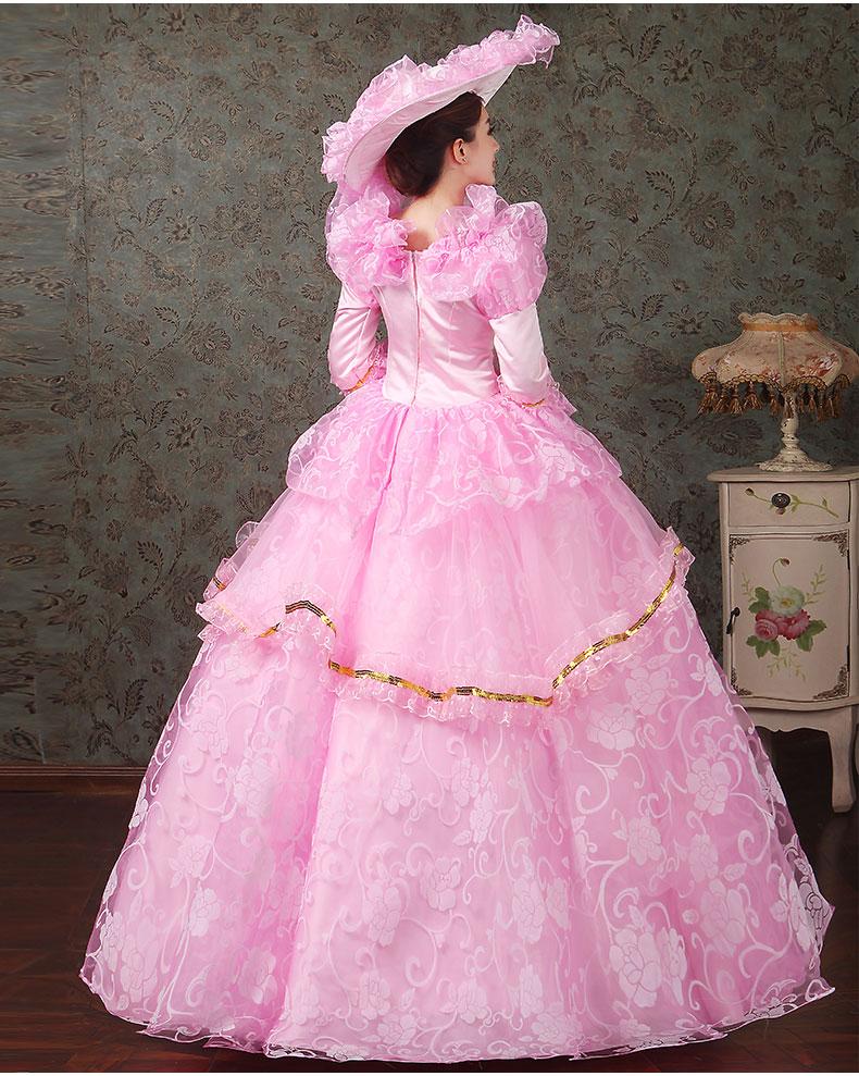 women dress Elegant fashion female royal clothing costume royal female clothes series 18