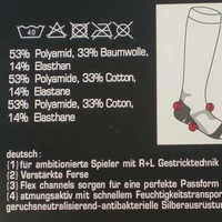 двухлобной утолщение полотенцем на - более-сапоги стволом футбольные гетры stockinets
