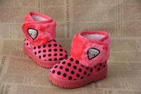 хлопка-ватник мужской обувь девочек, снегоступы принцесса туфли детская обувь малыша тепловые кожа а105