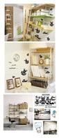 итие маленький жук кухонного шкафа книжная полка полка украшения мебели стены