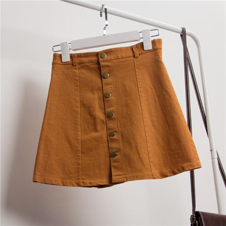 TB2Ns4VtXXXXXbLXpXXXXXXXXXX !!2543761373 - Girls Skirt Mini Denim zipper front skirt PTC 65