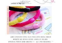 аксессуары плюшевые конфеты цвет резинка для волос повязка на голову ультра-эластичные повязка на голову