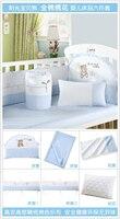 100% хлопка постельных принадлежностей из шести штук распускать и мыть детское комплект 100% хлопка вокруг