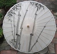 лучжоу длинная руководство смазанный бумага зонтик дождь танец крем от загара украшение подарок