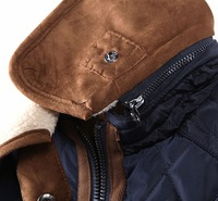 куртка хлопок - мягкий, осень и зима женщины кашемир воротник женское зима мех пальто