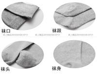 дешевые новое горячая распродажа чистый цвет бизнес хлопчатобумажные носки мужчины носки 5 шт высокое качество бесплатная доставка 6115-1002