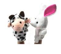 н двойной слой животных даже пальцем кукольный игрушка 10 комплект 10