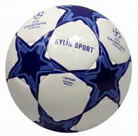 спортивные принадлежности лига чемпионов синий и белый кубок европы 5 стандартный матч по футбольный насоса иглы стат сумка