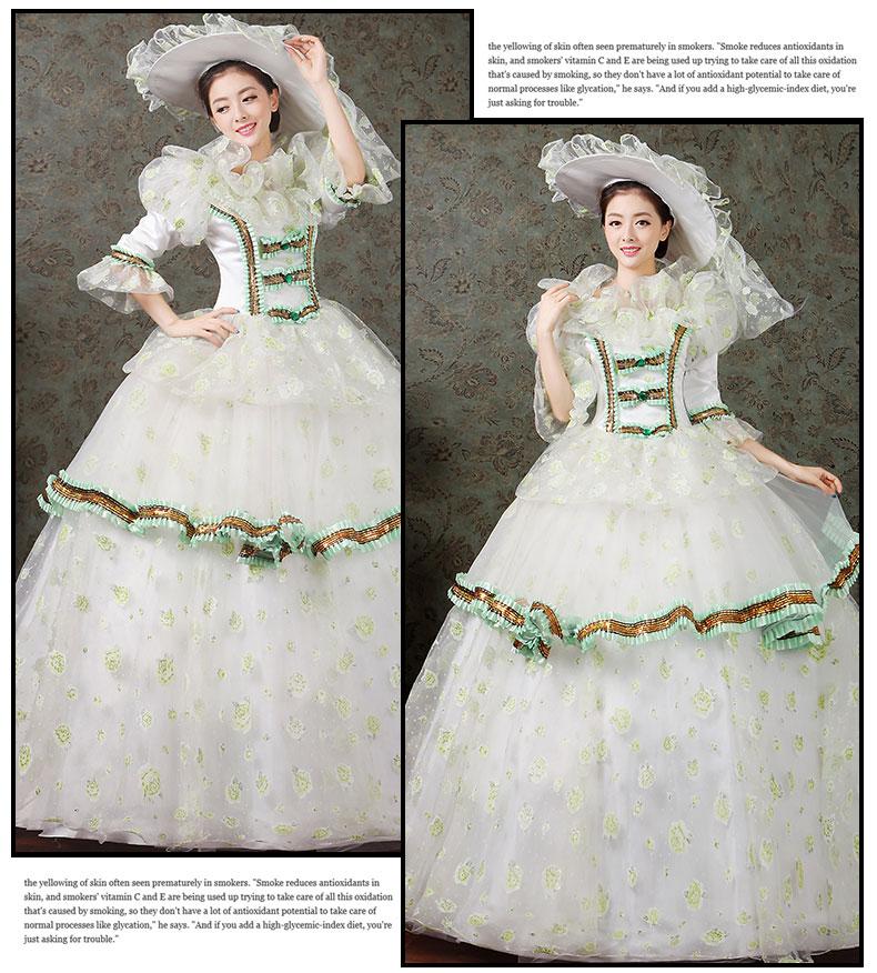 women dress Elegant fashion female royal clothing costume royal female clothes series 13