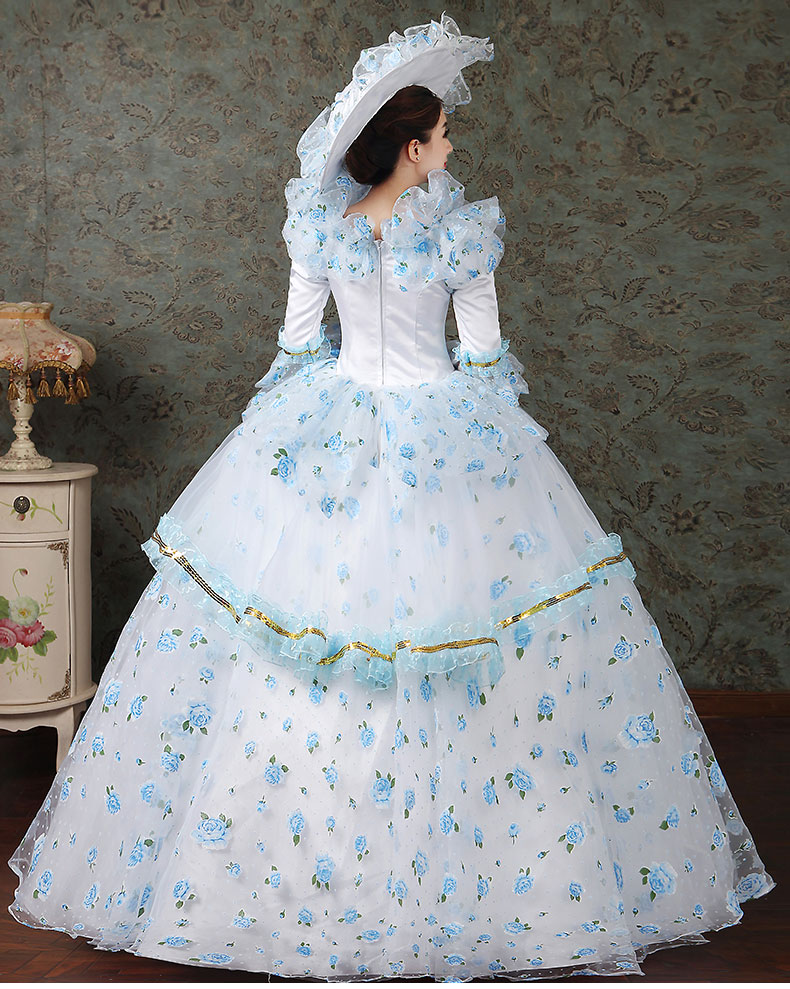 women dress Elegant fashion female royal clothing costume royal female clothes series 8