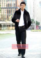 подражать ни ка baht обвинение куртка мех пальто мужчины в одежда мех через часть кожа одежда обвинение мех пальто