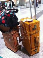 багаж из естественной кожи staring теле ви дорожного chan 22