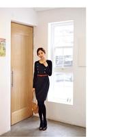 осень модные свободного покроя с ди Recover тонкий - платье XXXL осенняя большой размер одежды