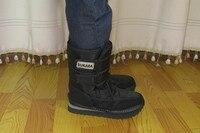бесплатная доставка зима на лыжах человека водонепроницаемый круто-устойчивых мужские снег ботинки мужской оформление
