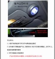 минимальный. заказ 10 долларов США + ] 3 светодиодные лампы датчик автомобиль верхнего света bra