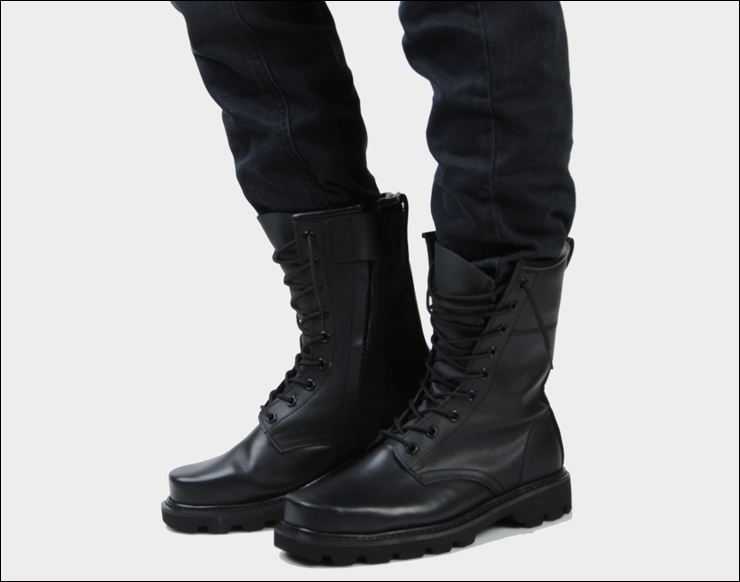 Aliexpress.com : Buy Male genuine leather boots plus size combat ...