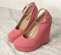 сладкий платформа ультра туфли на каблуках платформа клинья каблук одного туфли женские туфли