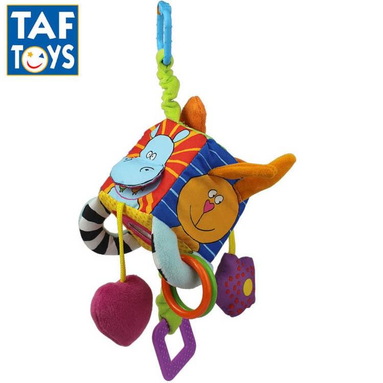 Mu/ñeca linda del escarabajo de dibujos animados musical de Bell suave del juguete de peluche animales del juguete Pacify Cuna Cochecito de juguete colgante del 1pc para ni/ños reci/én nacidos del beb/é