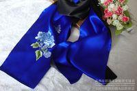 шелковый шарф ручной вышивкой вышивка ручная роспись уникальный подарок сучжоу вышивка готовой продукции серебро peones