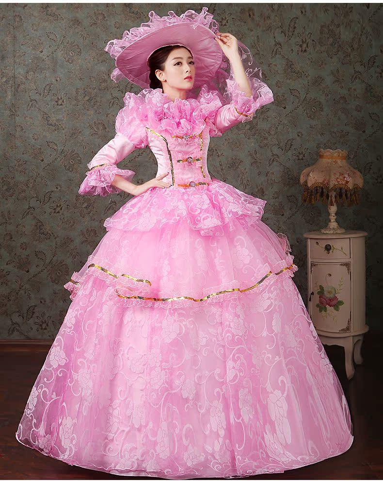 women dress Elegant fashion female royal clothing costume royal female clothes series 17