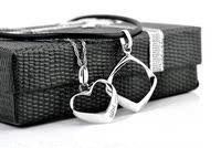 бесплатная доставка серебро 925 в форме сердца Cole colon для faoctry lublin оптовая продажа цена ювелирных аварии