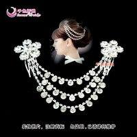 история белый невесты принцесса аксессуары для волос GR rustle брак аксессуары