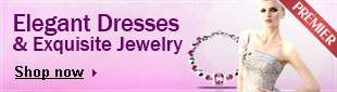 Gown & Jewelry