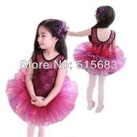 девочки балет пачка ну вечеринку танец платье кружево 2 - 7 лет необычные костюм катание на коньках одежда