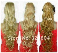 """лучший! новое постулат режим женская синтетический хвост 28 """" 70 см волосы частей бесплатная доставка 5 шт./лот"""