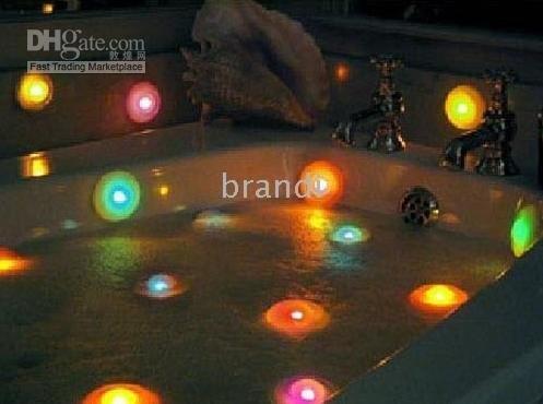 wholesale underwater Decoration disco LED Bath Light,SPA light(2pcs ...