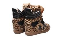 бесплатная доставка ] международный популярные женская мотоцикл ботинки с 3 см увеличение роста зима обувают туфли