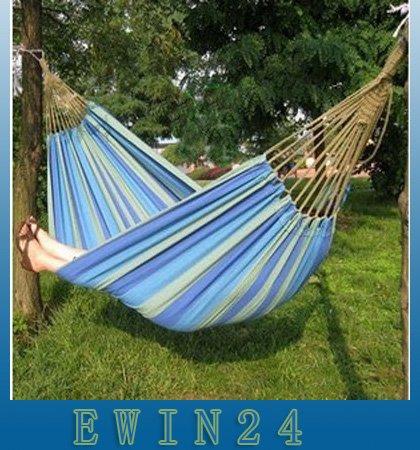 Outdoor Canvas Leisure Hammock Camping Heavy Multi-color Single Person  (1).jpg