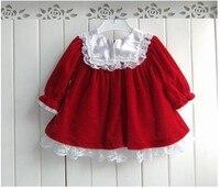 бесплатная доставка зима красный детское платье осенняя рождество младенца верхней одежды весна фестиваль красный детская одежда одежда кружево sxm по-с001-1