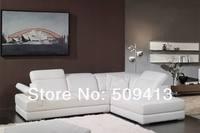 подлинный кожаный диван угловой диван гостиной диван бесплатная доставка