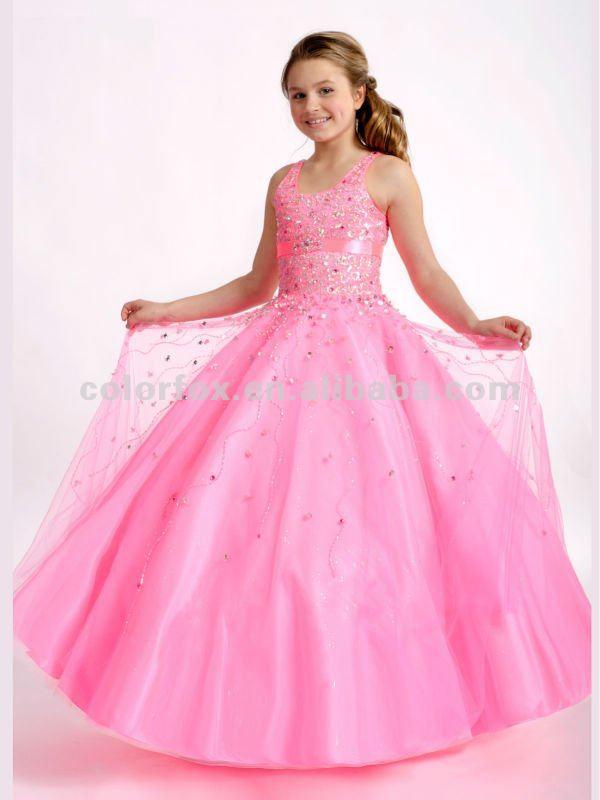 Barbie moldeado rosado blusa con cuentas dispersas suave tul balón ...