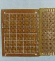 10 шт./лот поделки прототип бумаги печатной платы универсальный экпериментов матрица платы 9 * 15 см