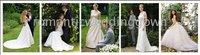 вединг / 93052 невесты недоуздок-образным атласная тюль и