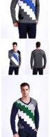 горячая распродажа, осень и зима г-н популярность мужчин свитер, бесплатная доставка в V - образным вырезом мужчины свитер - 2226