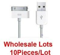 оптовая продажа много самых продаваемых новое USB-устройство синхронизации данных кабель для зарядного устройства для для iPhone 4 3 г 3GS и плеерах бесплатная доставка