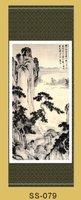 так красиво китай шелк прокрутки картины материал сосна вал СС-045 бывшее в использовании ас комната интерьер украшение