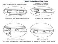специальный вид сзади автомобиля обратный резервного копирования камера для Шкода Octavia с доказательство воды, ночного видения, 170 градусов